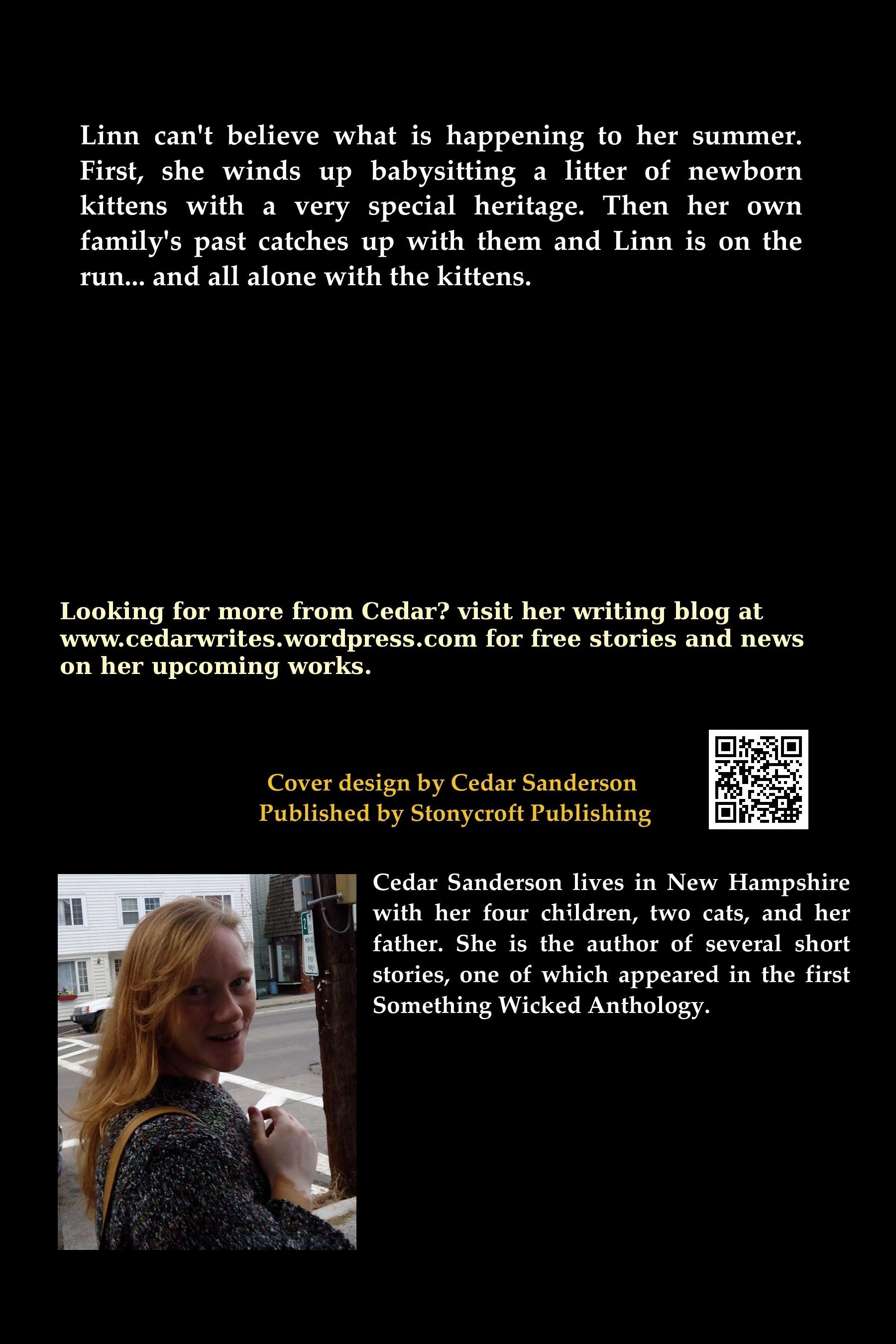 cedar sanderson author, Vulcan's Kittens