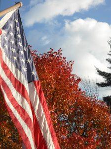 Patriotic Autumn