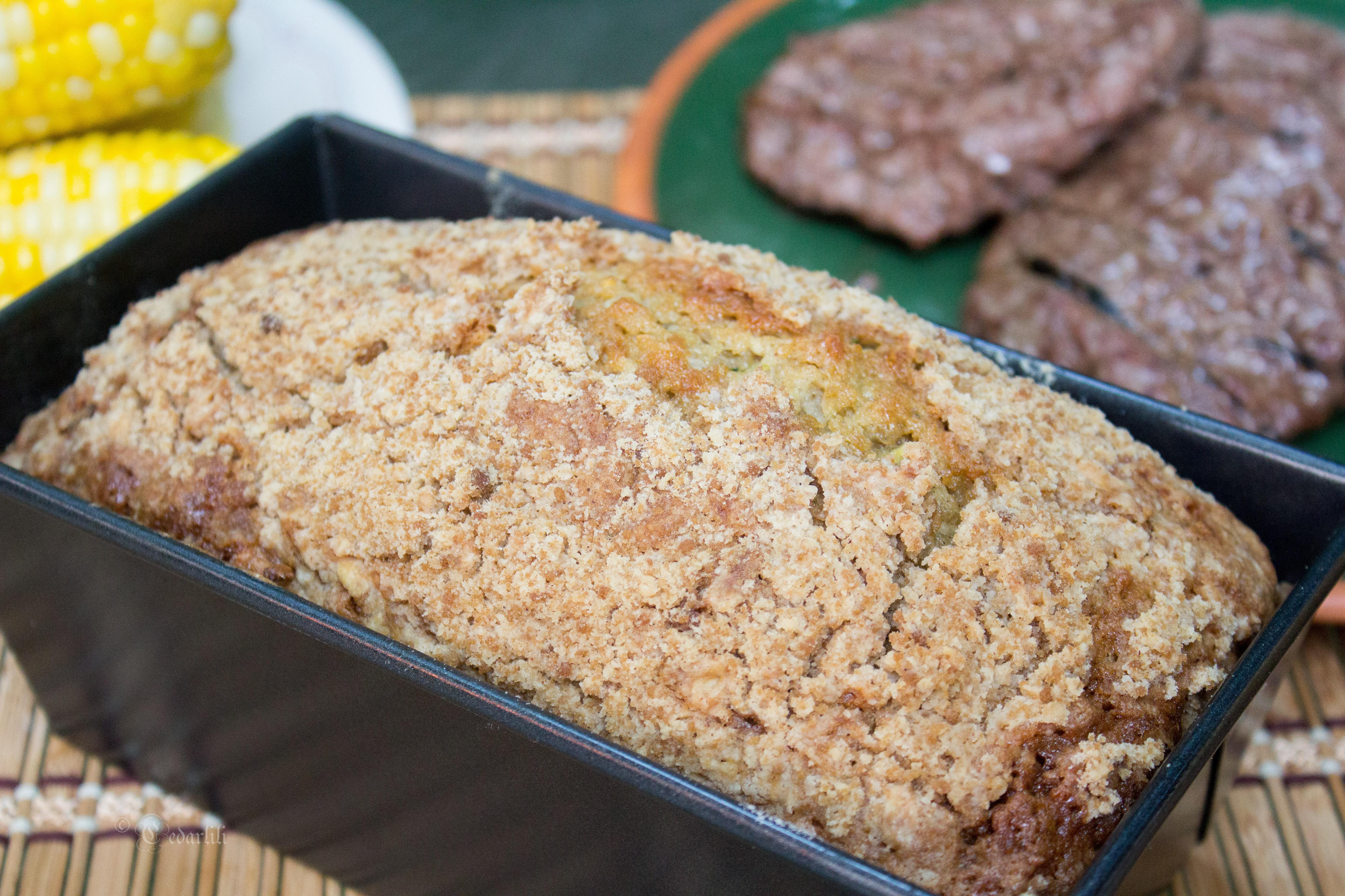 zucchini-apple bread