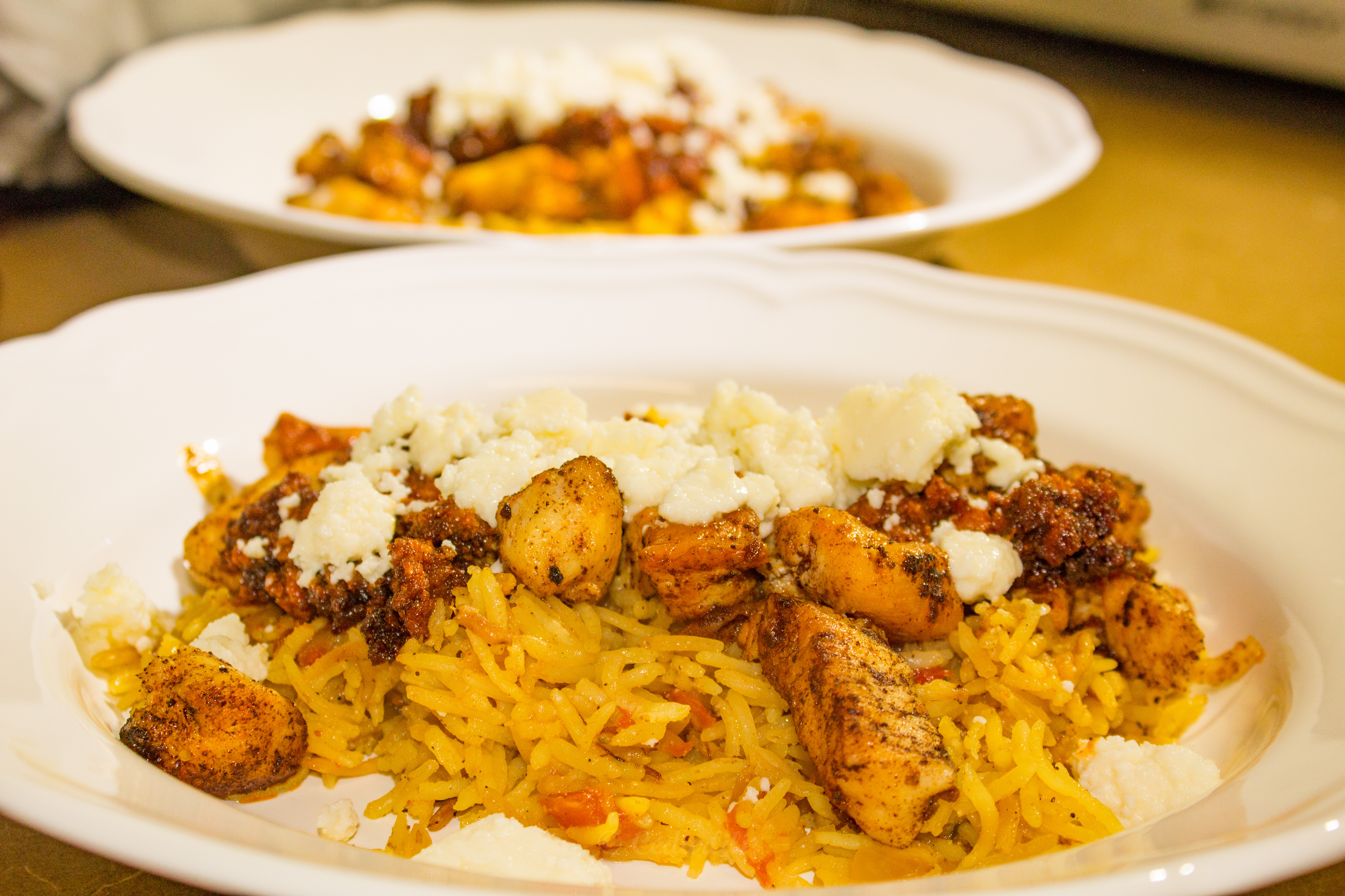 Chorizo con Pollo