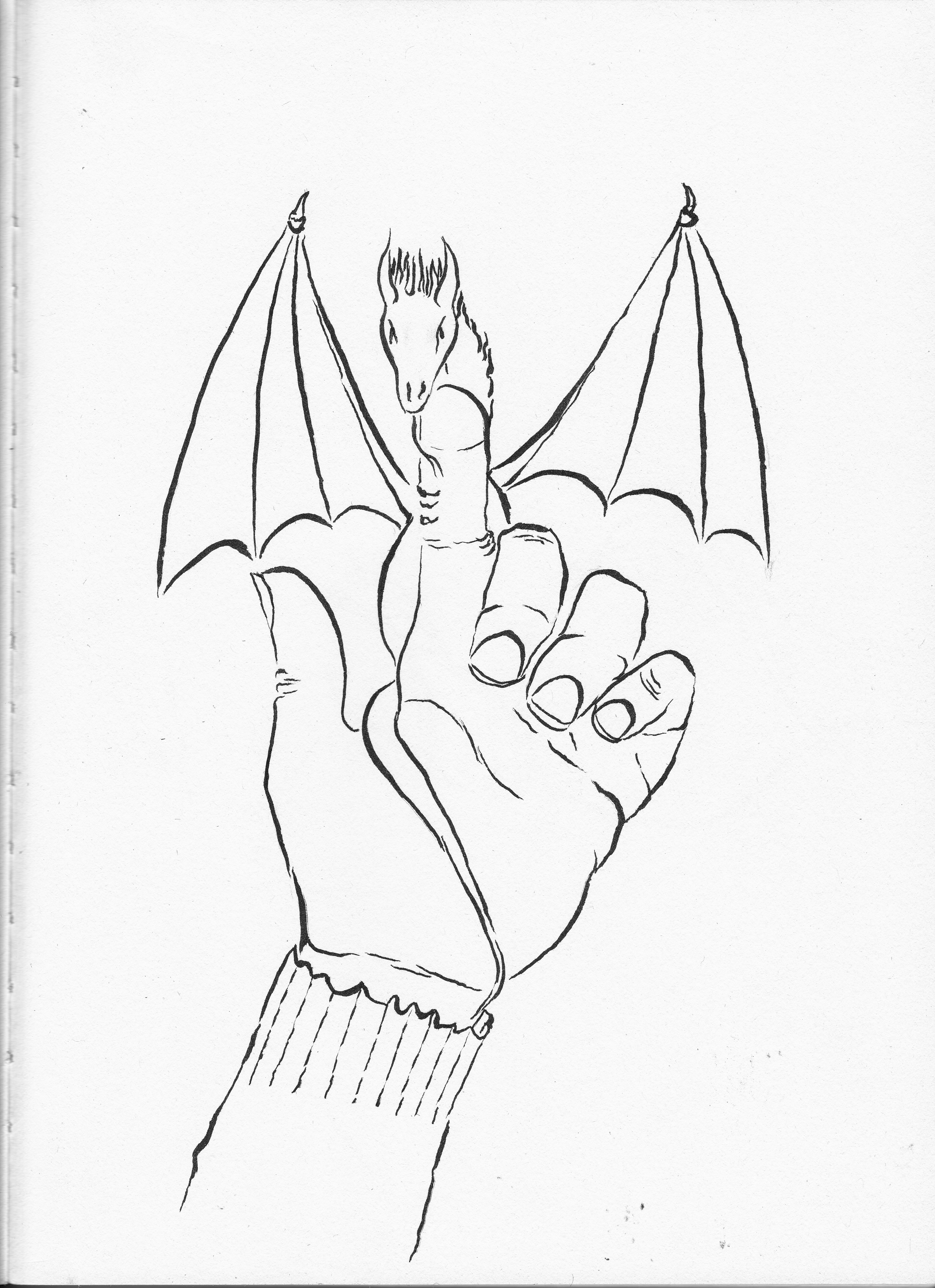 Hand dragon