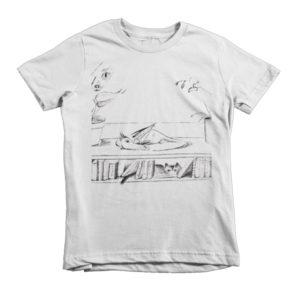 Library Dragon kids t-shirt