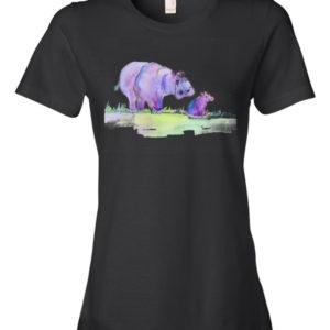 Purplepotamus Women's t-shirt