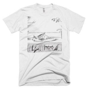 Library dragon t-shirt