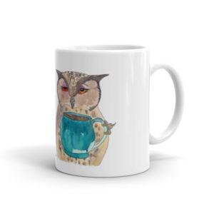 F*ck Morning Owl Mug